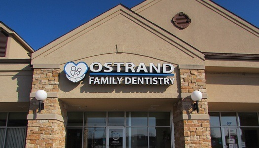 Ostrand Family Dentistry office building
